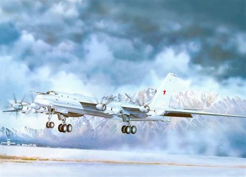 Купите Самолет  Ту-95МС (1:72) в интернет-магазине «Лавка Орка». Доставка по РФ от 3 дней.