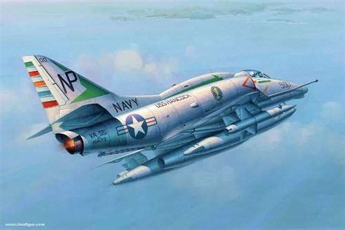 "Купите Самолет A-6E ""Скайхок""  (1:32) в интернет-магазине «Лавка Орка». Доставка по РФ от 3 дней."
