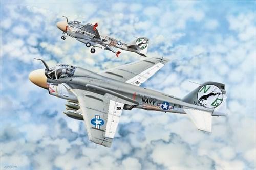 "Купите Самолет  A-6 ""INTRUDER"" (1:32) в интернет-магазине «Лавка Орка». Доставка по РФ от 3 дней."