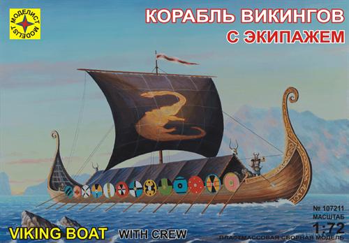 Купите Корабль викингов с экипажем (1:72) в интернет-магазине «Лавка Орка». Доставка по РФ от 3 дней.