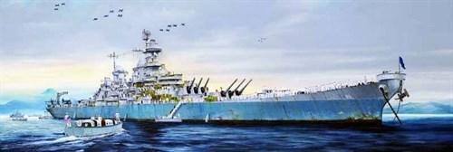 Купите Корабль  USS Missouri BB-63 (1:200) в интернет-магазине «Лавка Орка». Доставка по РФ от 3 дней.