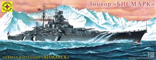 """Купите Линкор """"Бисмарк"""" (1:350) в интернет-магазине «Лавка Орка». Доставка по РФ от 3 дней."""