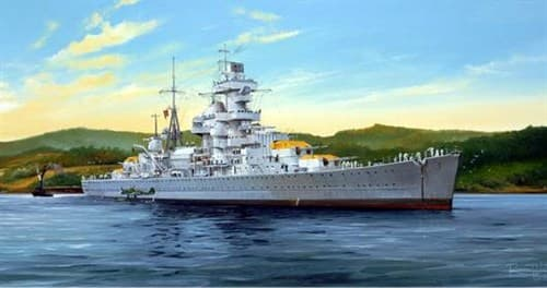 "Купите Крейсер ""Адмирал Хиппер"" 1941 г. (1:350) в интернет-магазине «Лавка Орка». Доставка по РФ от 3 дней."