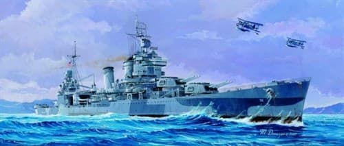 """Купите  Крейсер  СА-38 """"Сан Франциско"""" 1944 г. (1:700) в интернет-магазине «Лавка Орка». Доставка по РФ от 3 дней."""