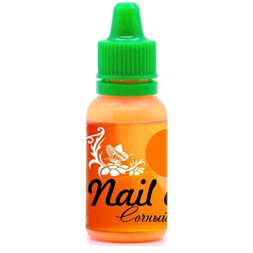Фото 1 Краска для ногтей Nail Art — Сочный Оранжевый 15мл