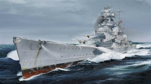 "Купите Крейсер ""Адмирал Хиппер"" 1940 г. (1:700) в интернет-магазине ""Лавка Орка"". Доставка по РФ от 3 дней."