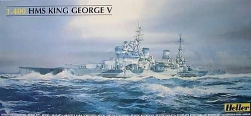 "Купите Корабль  HMS King George V (1:400) в интернет-магазине ""Лавка Орка"". Доставка по РФ от 3 дней."