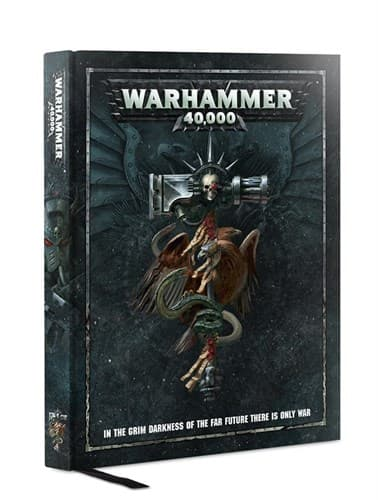 Warhammer 40000 Rulebook (english) - фото 48334