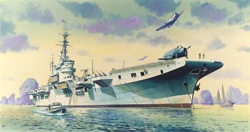 """Купите Корабль  ARROMANCHES / HMS COLOSSUS (1:400) в интернет-магазине """"Лавка Орка"""". Доставка по РФ от 3 дней."""