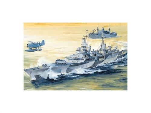 """Купите Корабль  USS Indianapolis CA-35 1944 (1:350) в интернет-магазине """"Лавка Орка"""". Доставка по РФ от 3 дней."""