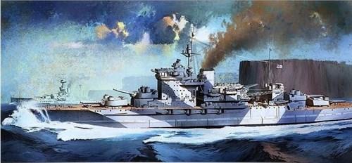 """Купите Корабль """"Warspite"""" (1:350) в интернет-магазине """"Лавка Орка"""". Доставка по РФ от 3 дней."""