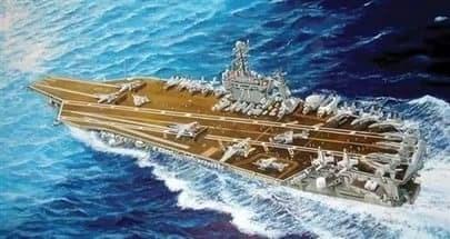 """Купите Авианосец  CVN-71 """"Т.Рузвельт"""" 2006 г. (1:700) в интернет-магазине «Лавка Орка». Доставка по РФ от 3 дней."""