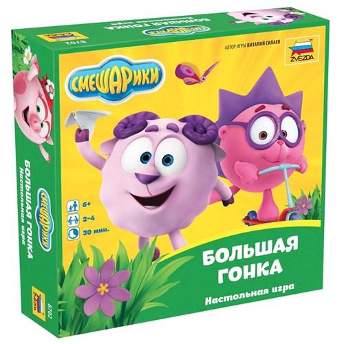 Купите настольную игру Смешарики Большая гонка в интернет-магазине «Лавка Орка». Доставка по РФ от 3 дней.