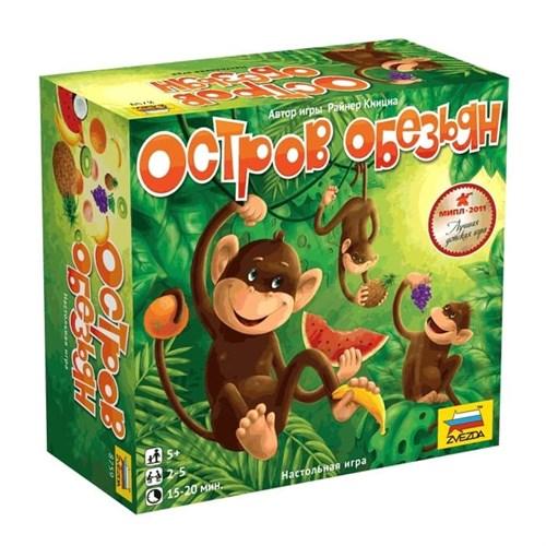 Купите настольную игру Остров обезьян в интернет-магазине «Лавка Орка». Доставка по РФ от 3 дней.