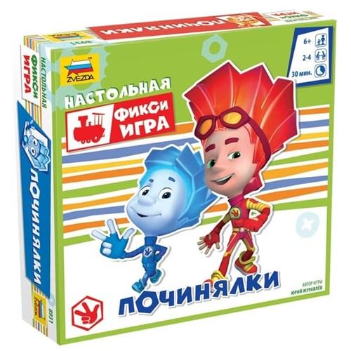 Купите настольную игру «Фиксики. Починялки» в интернет-магазине «Лавка Орка». Доставка по РФ от 3 дней.