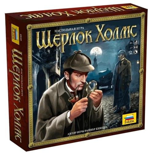 Купите настольную игру «Шерлок Холмс» в интернет-магазине «Лавка Орка». Доставка по РФ от 3 дней.