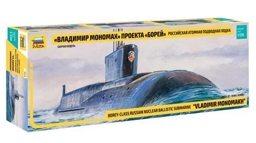 Купите Российская атомная подводная лодка Владимир Мономах проекта Борей в интернет-магазине «Лавка Орка». Доставка по РФ от 3 дней.