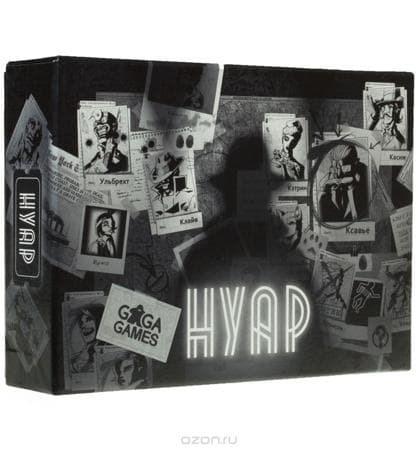 Купите настольную игру Нуар в интернет-магазине «Лавка Орка». Доставка по РФ от 3 дней.