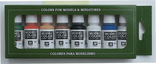 Купите Model Color Wargames Basics (8) 17 мл. в интернет-магазине «Лавка Орка». Доставка по РФ от 3 дней.