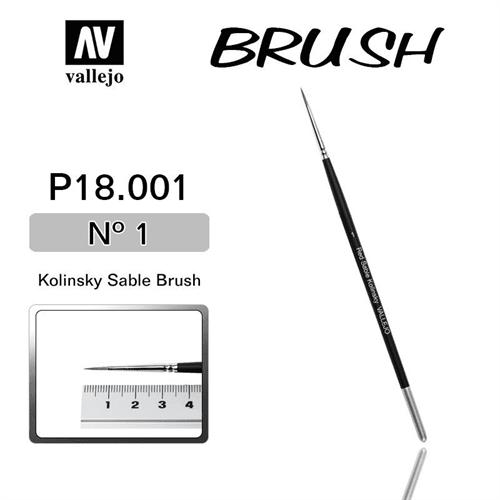 Купите кисть Kolinsky Sable Brush No.1 в интернет-магазине «Лавка Орка». Доставка по РФ от 3 дней.
