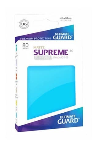 Supreme Sleeves Standard Size Matte Light Blue(UX) - фото 52967