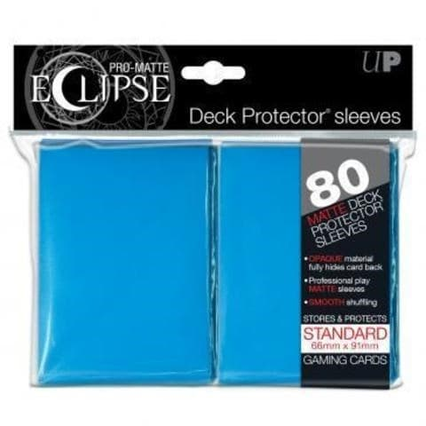 UP Sleeves PRO-Matte Eclipse Light Blue - фото 52982