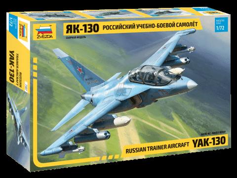 ЯК-130 РОССИЙСКИЙ УЧЕБНО-БОЕВОЙ САМОЛЁТ