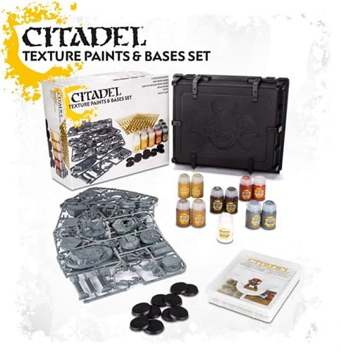 CITADEL TEXTURE PAINTS & BASES SET 2017 - фото 53794