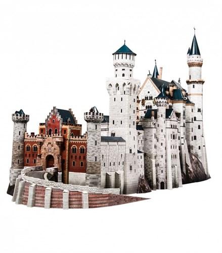 """Сборная модель. Серия: Архитектурные памятники. Масштаб 1/250. Замок """"Neuschwanstein"""" - фото 55574"""