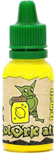 Краска для аэрографии Colork Air lemon acid Yellow 15мл - фото 55684