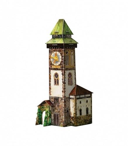 """Игровой набор из картона . """"Башня с часами"""". - фото 55799"""