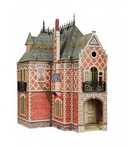 """Сборная модель из картона """"Кукольный Дом-2"""" - фото 55866"""