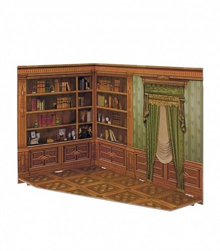 """Румбокс для коллекционного набора мебели """"Кабинет"""" - фото 55875"""