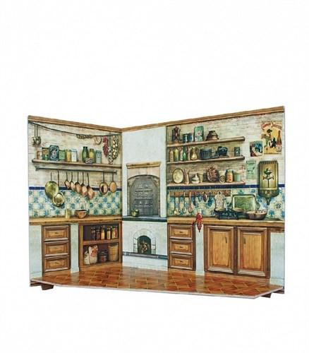 """Румбокс для коллекционного набора мебели """"Кухня"""" - фото 55877"""