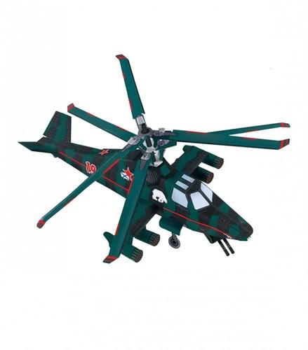 """Сборная игрушка из картона. Серия: Стандарт. Вертолет """"Медведь"""" - фото 56016"""