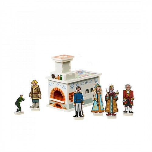 """Объемный пазл. Набор сборных игрушек """"Емелина печка"""". Материал: картон + изолон. Формат: mini - фото 56036"""