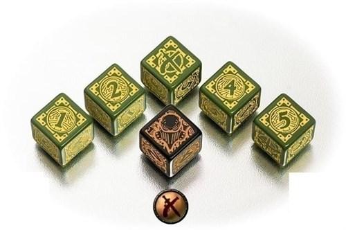 "Набор кубиков ""Warmachine Mercenaries Faction"" - фото 56713"