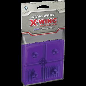 Star Wars: X-Wing - Purple Bases & Pegs - фото 59029