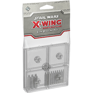 Star Wars: X-Wing - Clear Bases & Pegs - фото 59034