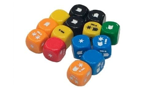Aristeia! Dice Pack (complete dice set like the included in Aristeia Core) (Dice) - фото 59290