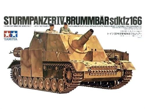 Самоходное орудие Sturmpanzer IV BRUMMBAR  с 2 фигурами - фото 60795