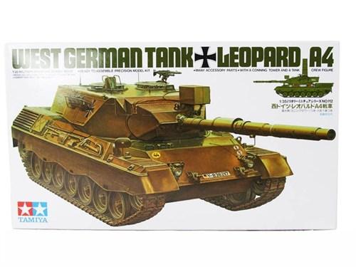 Западно-германский танк LEOPARD  А4 с 1 фигурой командира - фото 60806