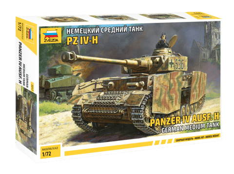 Немецкий средний танк PZ IV-H - фото 60837