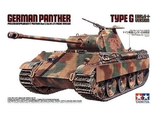 Танк Panther Type G (ранняя версия), с  1фигурой танкиста - фото 60841