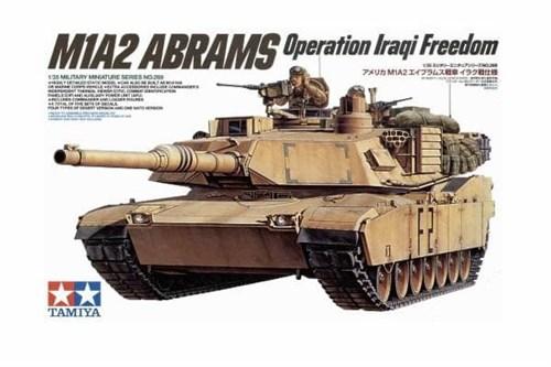 Амер. танк М1А2 Abrams c 120мм пушкой с 2 фигурами OIF - фото 60926