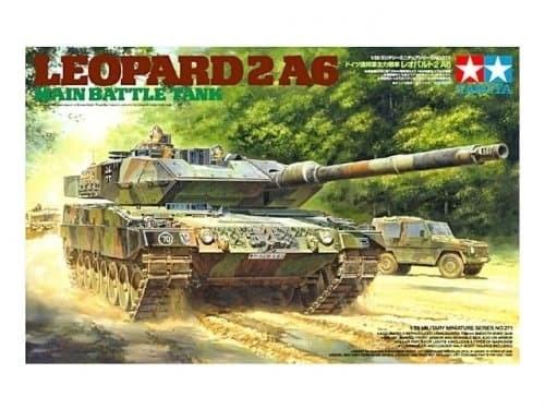 1/35 Танк Leopard 2 A6 - фото 60928