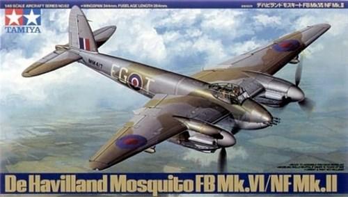 1/48 Mosquito FB Mk.VI/NF Mk.II - фото 62327