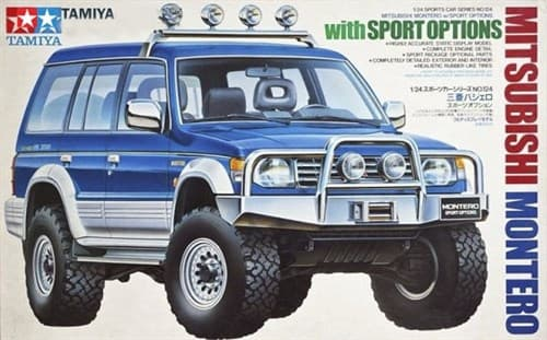 1/24 Mitsubishi Montero w/Sports Options - фото 62577