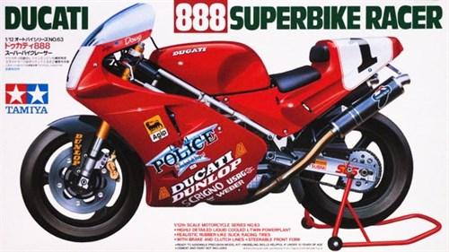 1/12 Ducati 888 Superbike - фото 62676