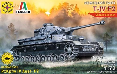 Немецкий танк Т-IV F2  (1:72) - фото 62698